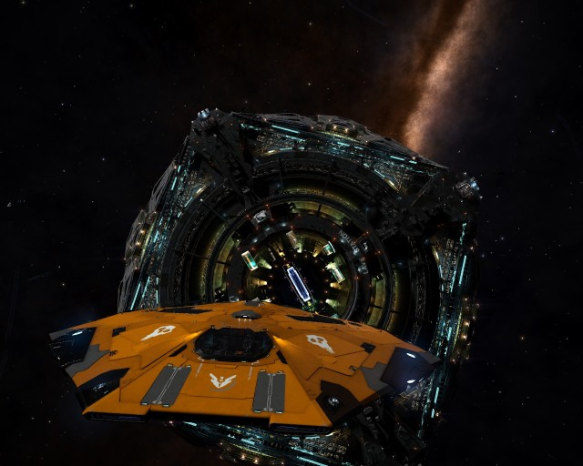 Departing Lave for the galactic core. A 50k light-years round trip. I won't see another Coriolis station for a little while.