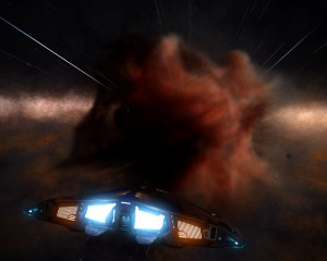 Approaching the BLEAE AEWSY nebula.