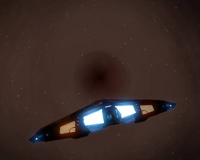 Great Annihilator A, one of a binary black holes system.