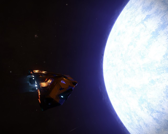 Source 2, the big blue star companion of the black hole. Also: the petrol station at the centre of the galaxy.